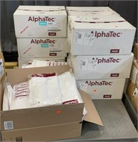 10 Boxes Of Assorted Ansell Alphatec Lab Coats