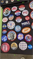 10 Total- 10.5x17 Boards W/misc. Political