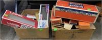 2 Boxes Of Empty Lionel Boxes