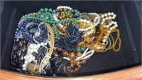 Jewelry Chest W/ Assorted Costume Jewelry