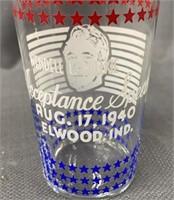 Windell L. Wilkie Acceptance Speech Glass 1940