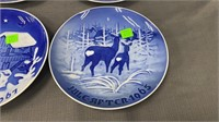 2 Kai Lange & 2 Kjobenhaven Decorative Plates