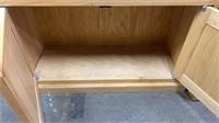2 Shelves W/ Base Piece 32x12x72