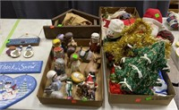 Assorted Christmas Decor, Nativity Scene Figures