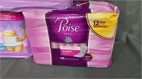Poise Pads & 2 Packages Of Tena Underwear