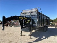 *2009 Big Tex 20'x6.6' Dump Trailer w/Tarp