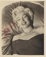 Marilyn Monroe 8 X 10 Signed Portrait