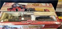 Online Train Auction