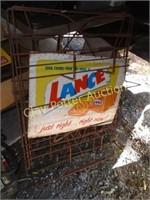 Antique Lance rack