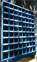 Metal organizer rack
