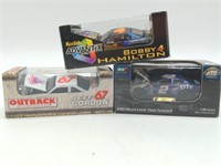 (3) 1/64 Scale Revell, Action Die Cast Nascar