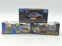 (3) 1/64 Scale Action, Revell Die Cast Nascar