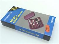 10 Pc. Manicure Travel Set