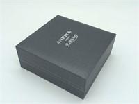 Blue Anriya Glamour Milan Box Set with Watch Pen