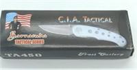 "4.5"" C.I.A. Tactical Folding Pocket Knife"