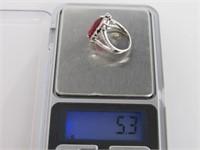 6.4ct Ruby Dinner Ring