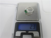 2.33 ct Emerald Ring