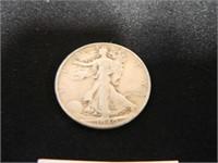 Walking Liberty Half Dollar; 1940