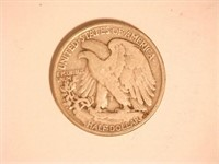 Walking Liberty Half Dollar; 1942