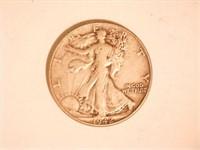 Walking Liberty Half Dollar; 1942