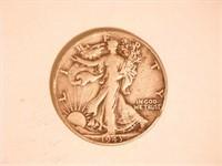 Walking Liberty Half Dollar; 1943