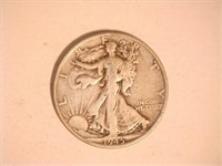 Walking Liberty Half Dollar; 1945