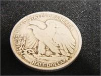 Walking Liberty Half Dollar; 1944