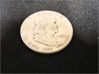 Franklin Half Dollar; 1951