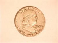 Franklin Half Dollar; 1960