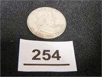 Franklin Half Dollar; 1961