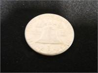 Franklin Half Dollar; 1962