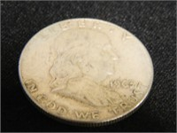 Franklin Half Dollar; 1963