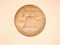Franklin Half Dollar; 1963