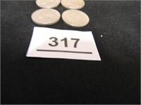 1930's Jefferson Nickels (4)