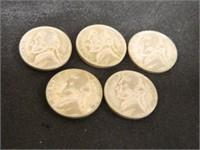 1945 Jefferson Nickels (10)