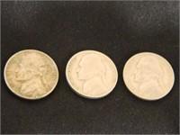 1955-1959 Jefferson Nickels (25)