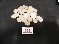 1964 Jefferson Nickels (54)