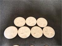 1970-1972 Jefferson Nickels; (24)