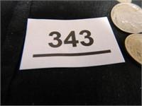1930's Buffalo Nickels (28); Date Illegible (7)