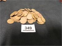 Wheatback Pennies; (85); Assorted Years