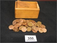 Lincoln Pennies; approx .6 lbs