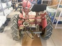 International McCormick Farmall Cub- belly mower,