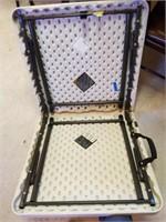 """Lifetime Plastic Folding Table 24"""" x 48"""""""