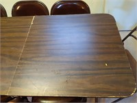 """(2) Folding Tables 60""""x 29.6"""" x 28"""" and (10)"""