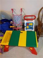 High Chair, Kids Rocking Chair, Doll Stroller,