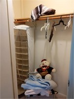 Indian Blanket, Hanging Closet Organizer, Luggage