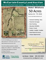 McCurtain County Land Auction