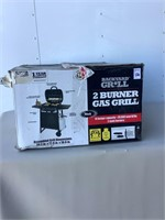 2 BURNER GAS GRILL BLACK