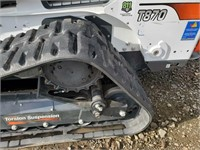 2018 Bobcat T870 Skid Steer Track Loader