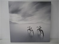 Trademark Fine Art Couple by Moises Levy Canvas